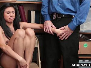 Ravaged shoplifter slut thanks