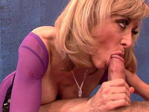 Mature dirty lady doggystyled by young boy