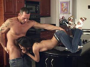 April O'Neil and how to cook a hairy twat with hot cum