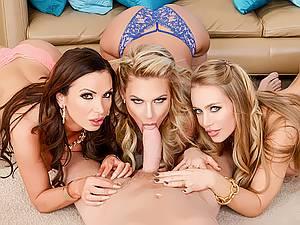 Group Orgy with married man and his wife's best friends Nikki Benz and Phoenix Marie