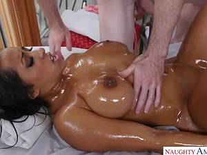 Exotic body massage with busty Indian beauty Priya Price