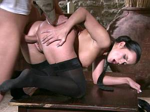 Cindy Dollar gets both holes drilled