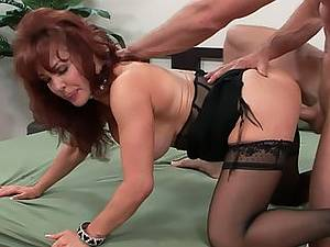 Young boy fucks his stepmother Sexy Vanessa with big tits