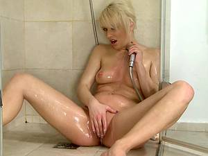 Shower fun with a horny girl