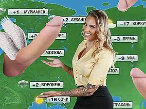 Anchorman weather Juelz Ventura gets her ass fucked in live
